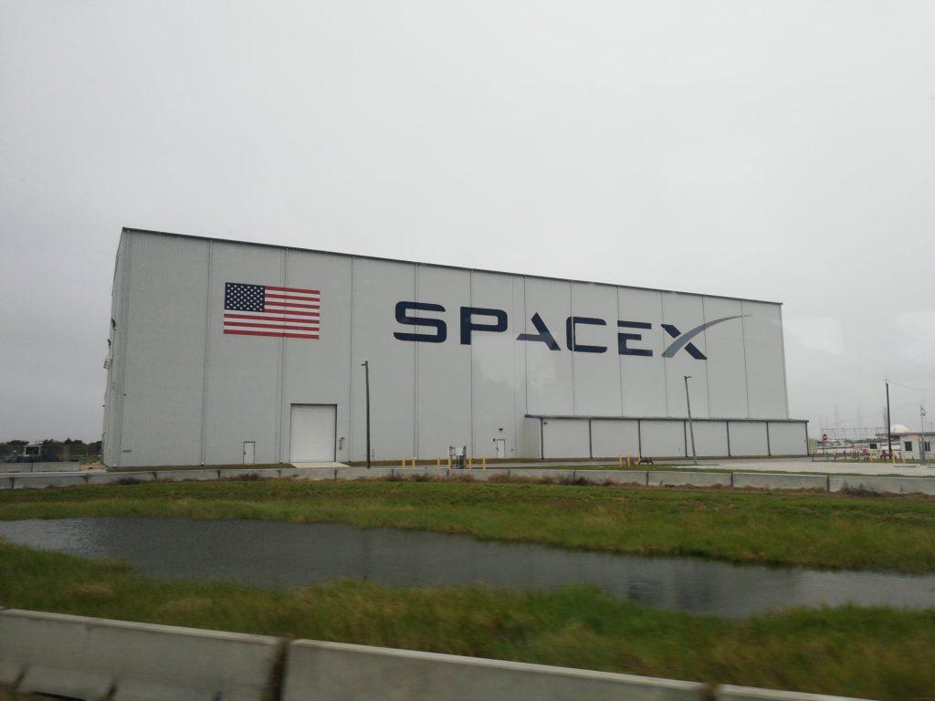 Visita a Cape Canaveral - L'angar dedicato alla Space X di Elon Musk
