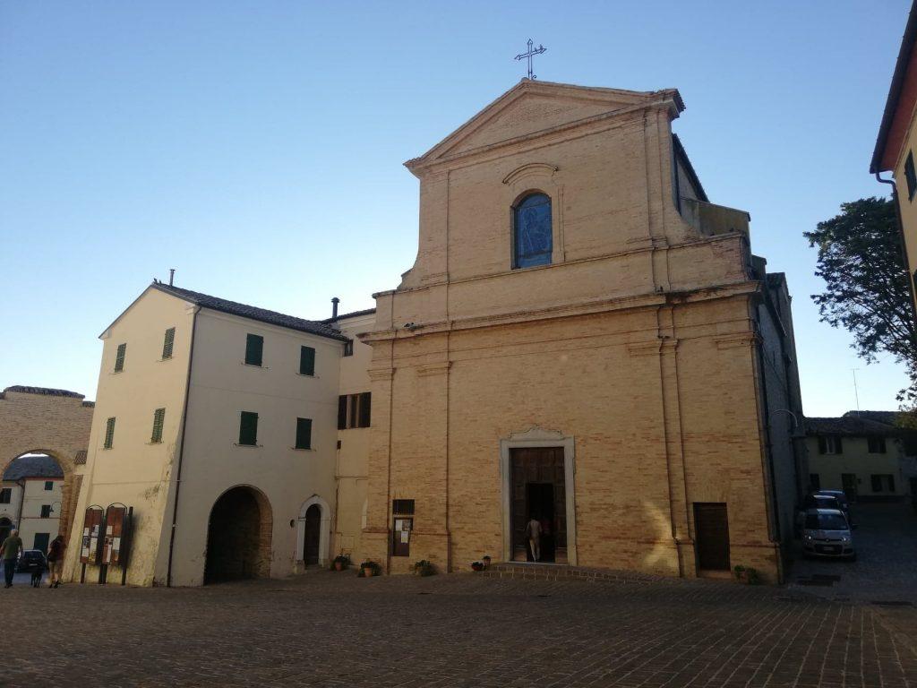 Chiesa di San Gaudenzio - cosa vedere a Morro d'Alba