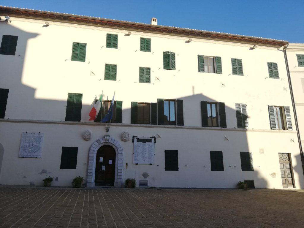 Palazzo comunale - Cosa vedere a Morro d'Alba