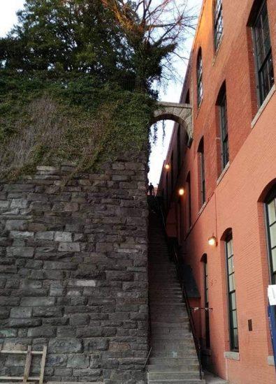 cosa vedere in 3 giorni a Washington dc - quartiere di Georgetown - la scalinata del film l'esorcista