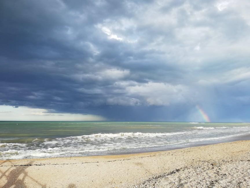 cosa vedere a Marotta il mare d'inverno
