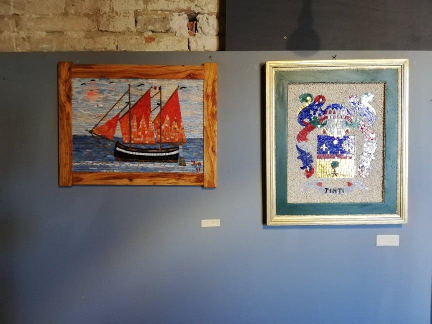 Mosaici a cura dell'Associazione Chiaro Scuro - Marotta Mondolfo