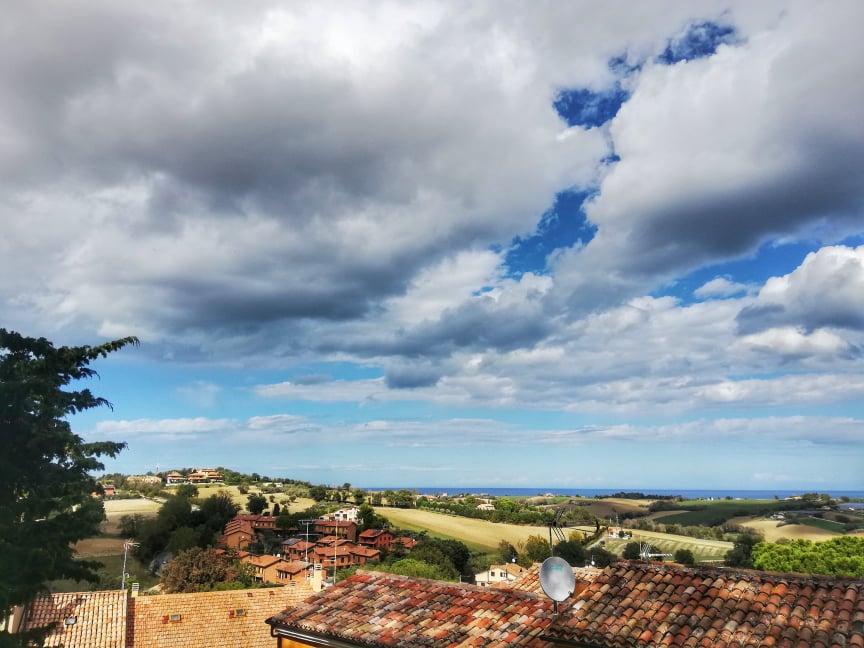 cosa vedere a Mondolfo Panorama dal Belvedere