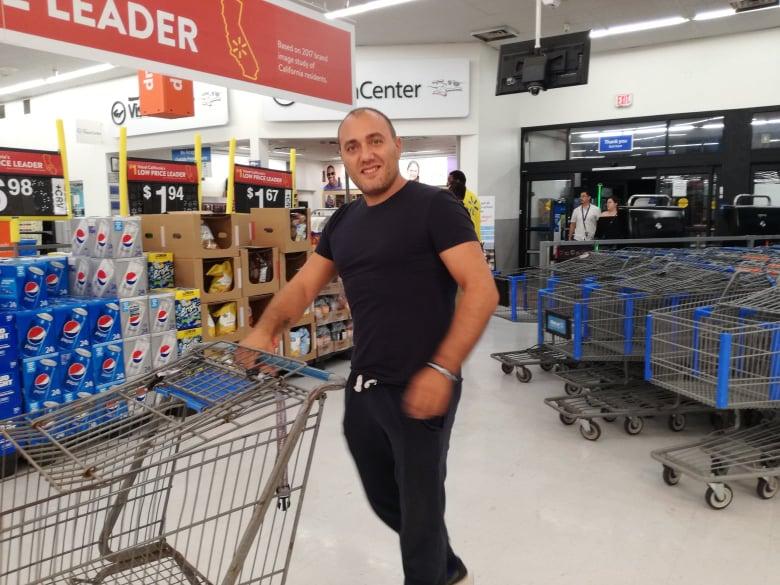Pronti per la nostra spesa pazza al Walmart fare spesa al Walmart in America