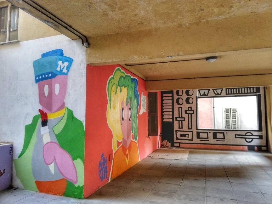 street art Ancona murales Capodimonte