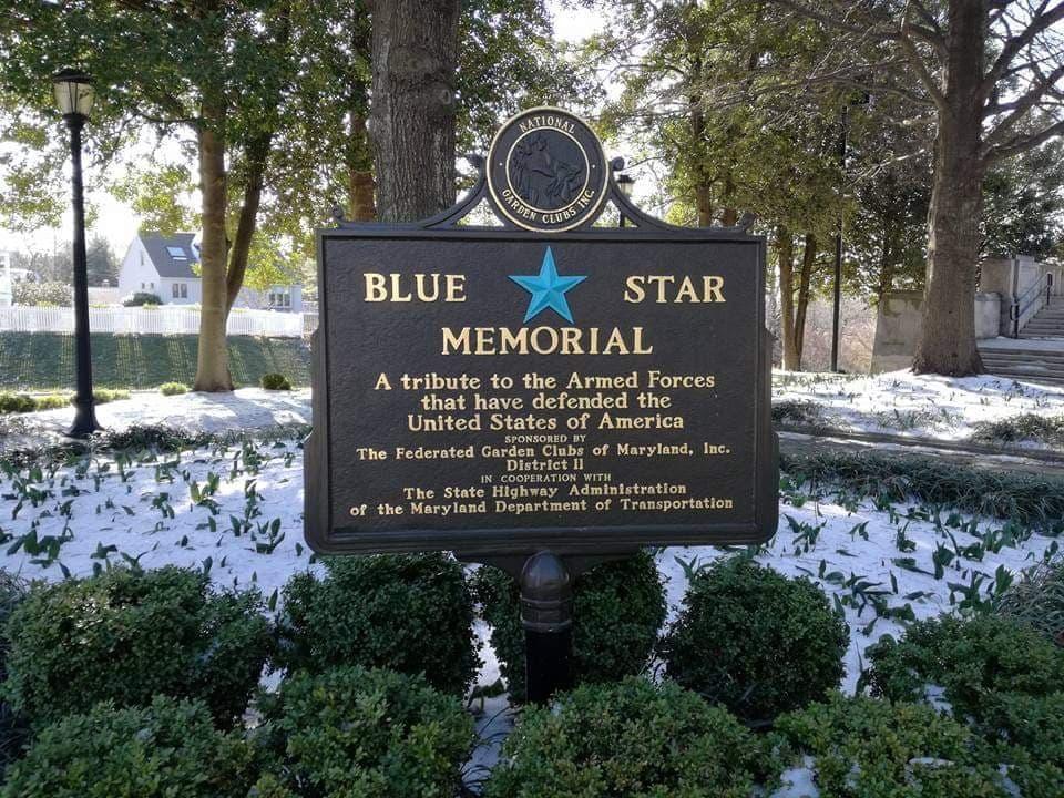 visitare il Blue Star Memorial al World War Memorial Annapolis Maryland