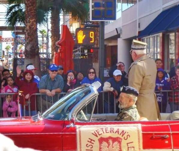 Veteran's Day Stati Uniti festeggiamenti Las Vegas