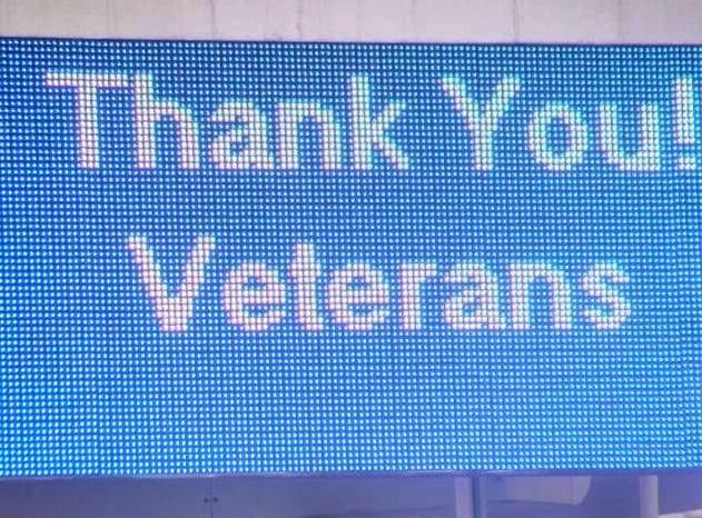 Veteran's Day Stati Uniti festeggiamenti a Las Vegas