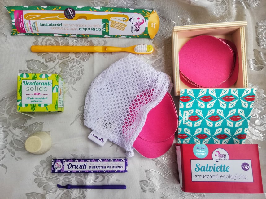 accessori eco friendly viaggio kit completo Lamazuna