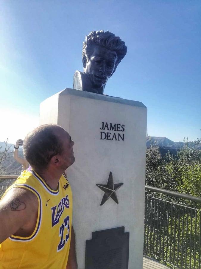 cosa fare al Griffith Park statua di James Dean