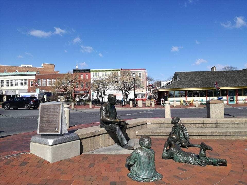 cosa vedere ad Annapolis memoriale Kunta Kinte AlexHaley