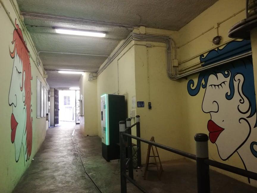 tour murales Ancona Parcheggio Cialdini volti Yapwilli