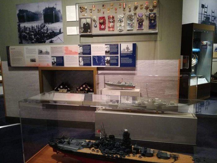 visita Accademia Navale Annapolis Esposizione di medaglie al Museo