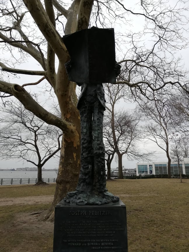 curiosità sulla Statua della Libertà Joseph Pulitzer