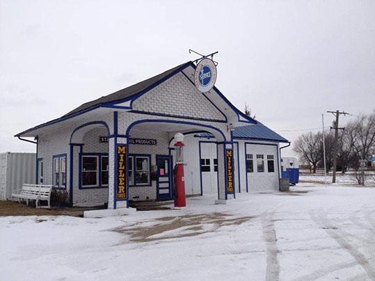 Attrazioni Route 66 Illinois Odell Standard Station