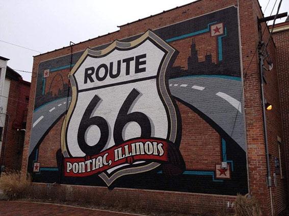 Murales Pontiac Illinois Route 66