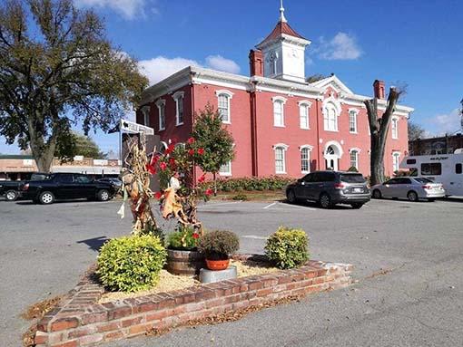 fabbrica Jack Daniel's Lynchburg historic square