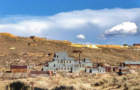 Bodie Ghost Town California panorama