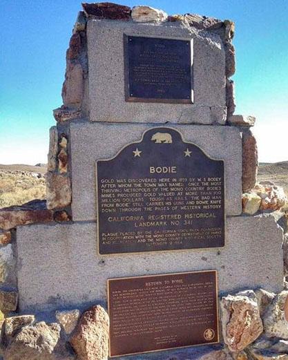 Bodie Ghost Town California Historic Landmark