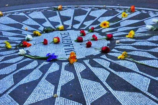 Strawberry Fields Memorial - Imagine John Lennon