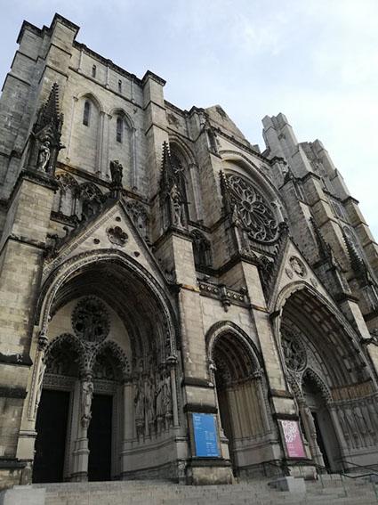 cattedrale Saint John the Divine  facciata