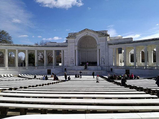 Memorial Amphitheater Cimitero di Arlington Virginia