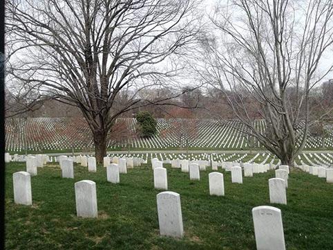 Cimitero di Arlington - Virginia  cosa vedere a Washington Dc in 3 giorni