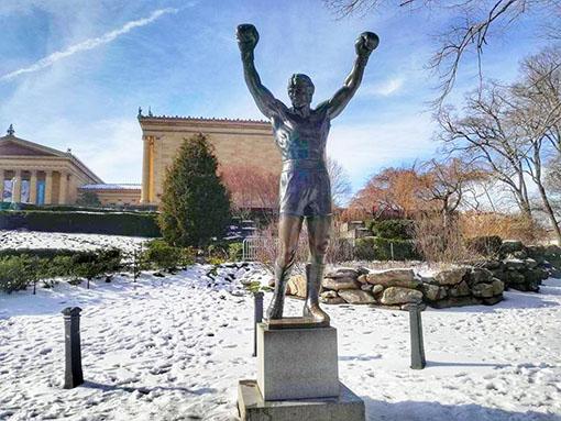 Statua di Rocky Balboa - Philadelphia Museum of Art - Cosa fare in un giorno a Philadelphia