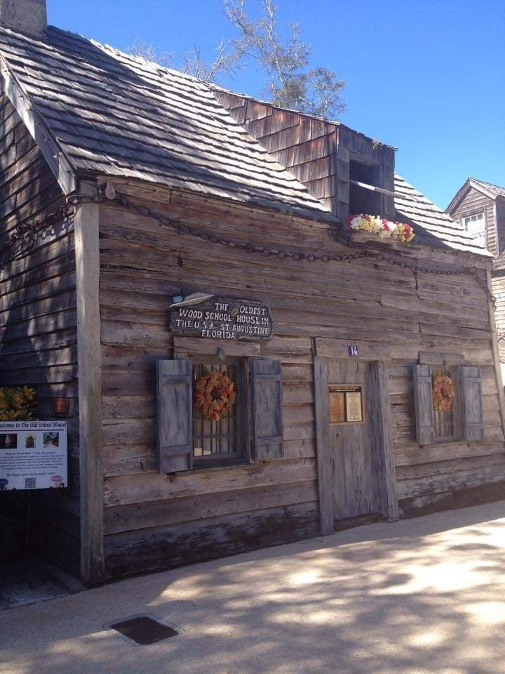 cosa vedere a St Augustine oldest wooden schoolhouse