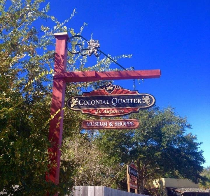 cosa vedere a St Augustine - colonial quarter