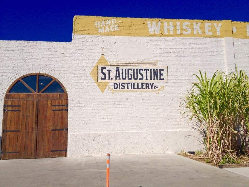 cosa vedere a St Augustine distillery entrata