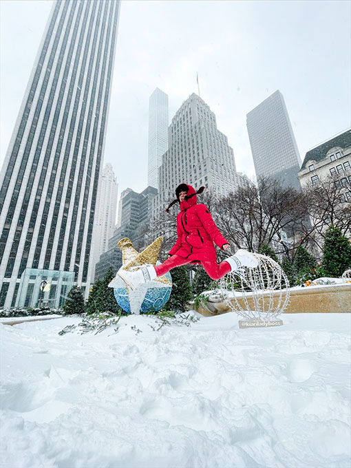 intervista a Kiara Di Paola Kiariladyboss New York City 4 all neve a Manhattan