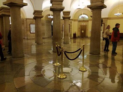 visita al Campidoglio Washington Dc cripta con le 40 colonne