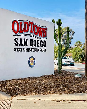 intervista a Giada Bravo di La mia California - Old Town San Diego