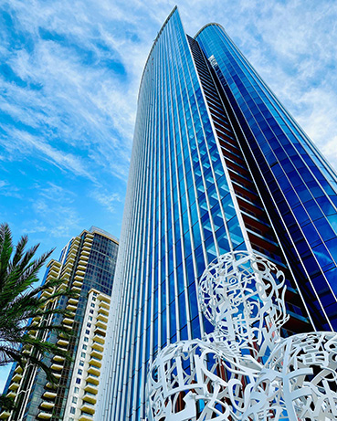 Pacific Gate. Complesso di appartamenti di lusso della Downtown di San Diego