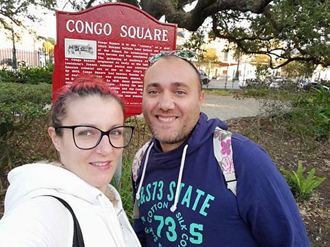 New Orleans tra musica e magia Congo Square