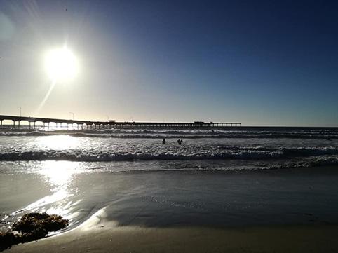 Spieggia di San Diego - Sunshine Blogger Award