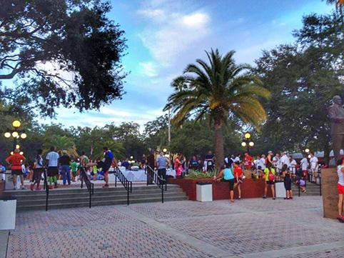 cosa vedere a Ybor City Tampa Festa nel parco cittadino dopo la maratona di novembre