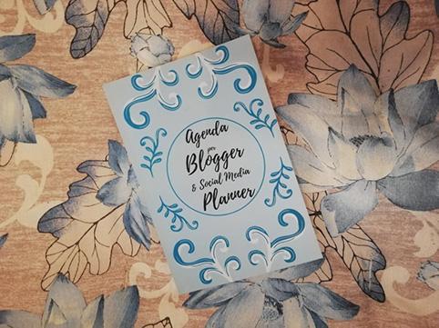 Agenda per Blogger social media planner di Fun travel