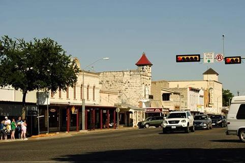cosa vedere a Fredericksburg Texas downtown