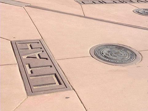 Four corners 4 stati americani confine dello Utah