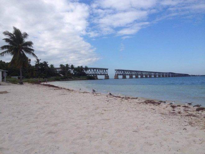 Bahia Honda State park Calusa Beach e vecchio ponte ferroviario