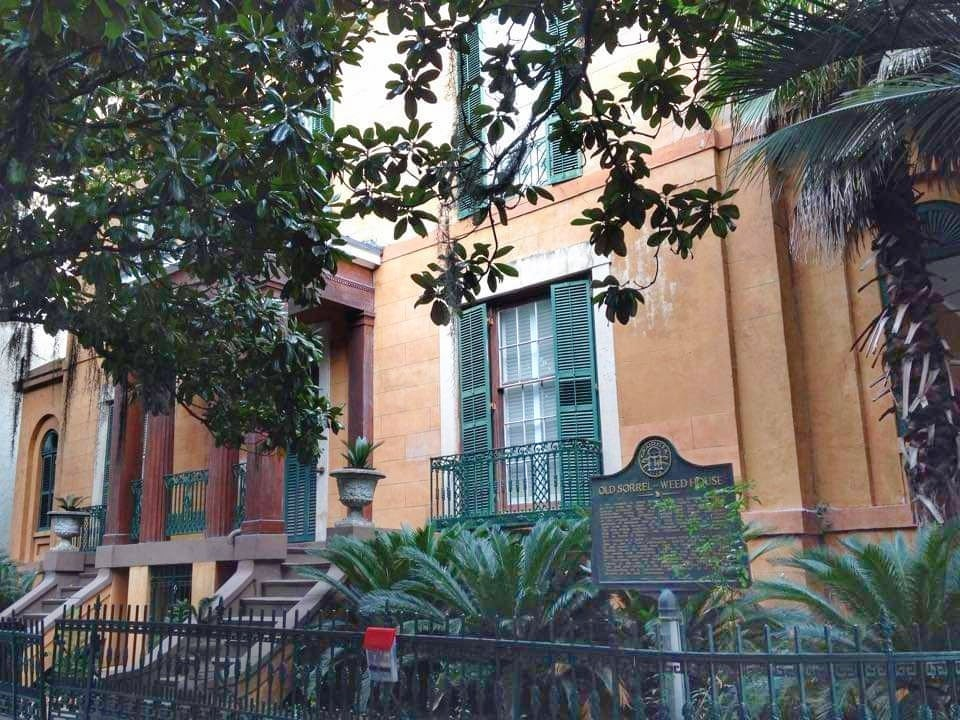 Cosa Vedere a Savannah Georgia residenze storiche Old Sorrel Weed House