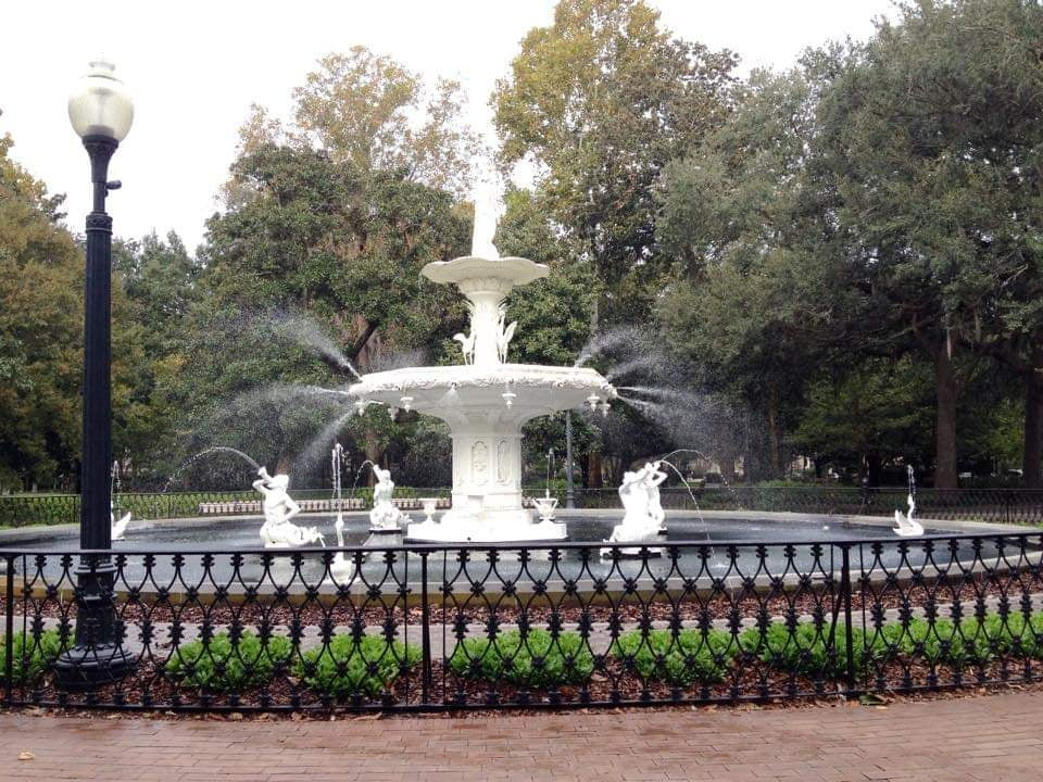 Cosa Vedere a Savannah Georgia Fontana del Forsyth Park