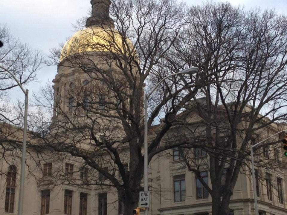 Cosa vedere ad Atlanta la cupola dorata del Georgia State Capitol