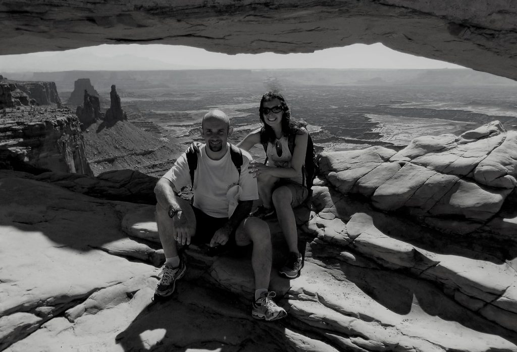 Morena e Fabry - Mesa Verde Arch foto scattata dal local