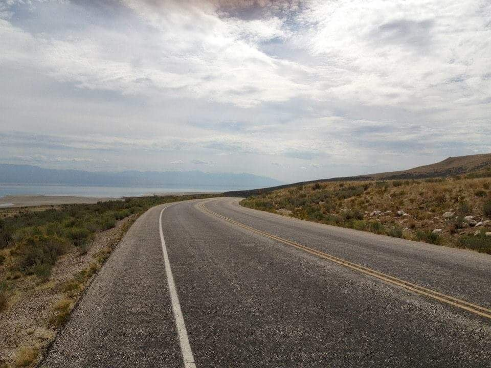 visitare Antelope island State Park in auto strada panoramica Salt Lake City