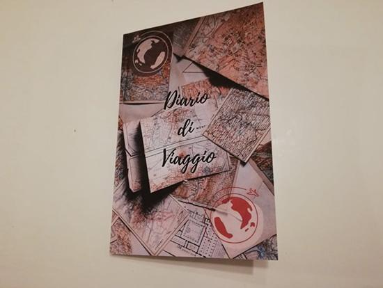Diario di viaggio Travel Planner con schede da compilare