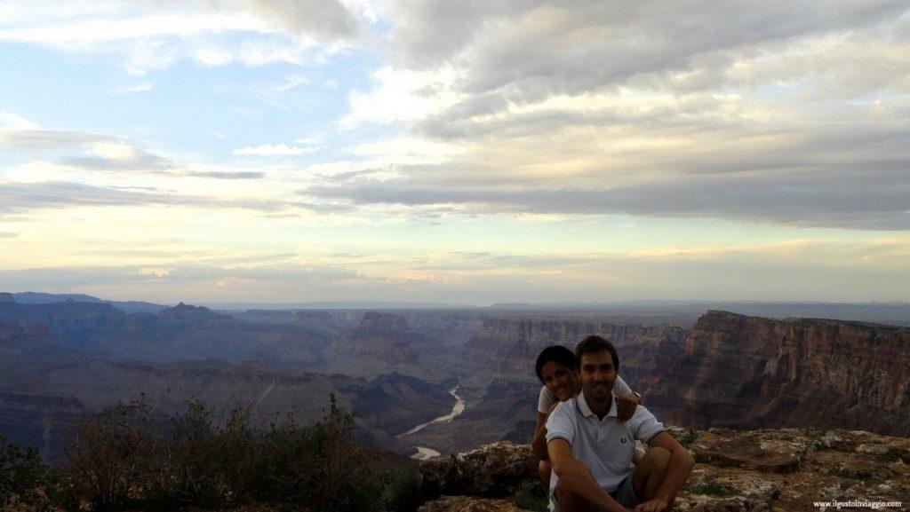 intervista a Marina di Il Gusto in viaggio Grand Canyon