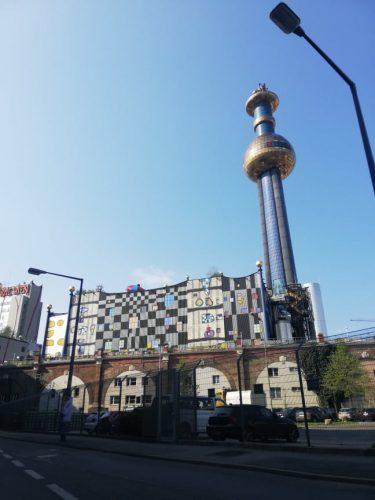cose insolite da vedere a Vienna inceneritore di Spittelau